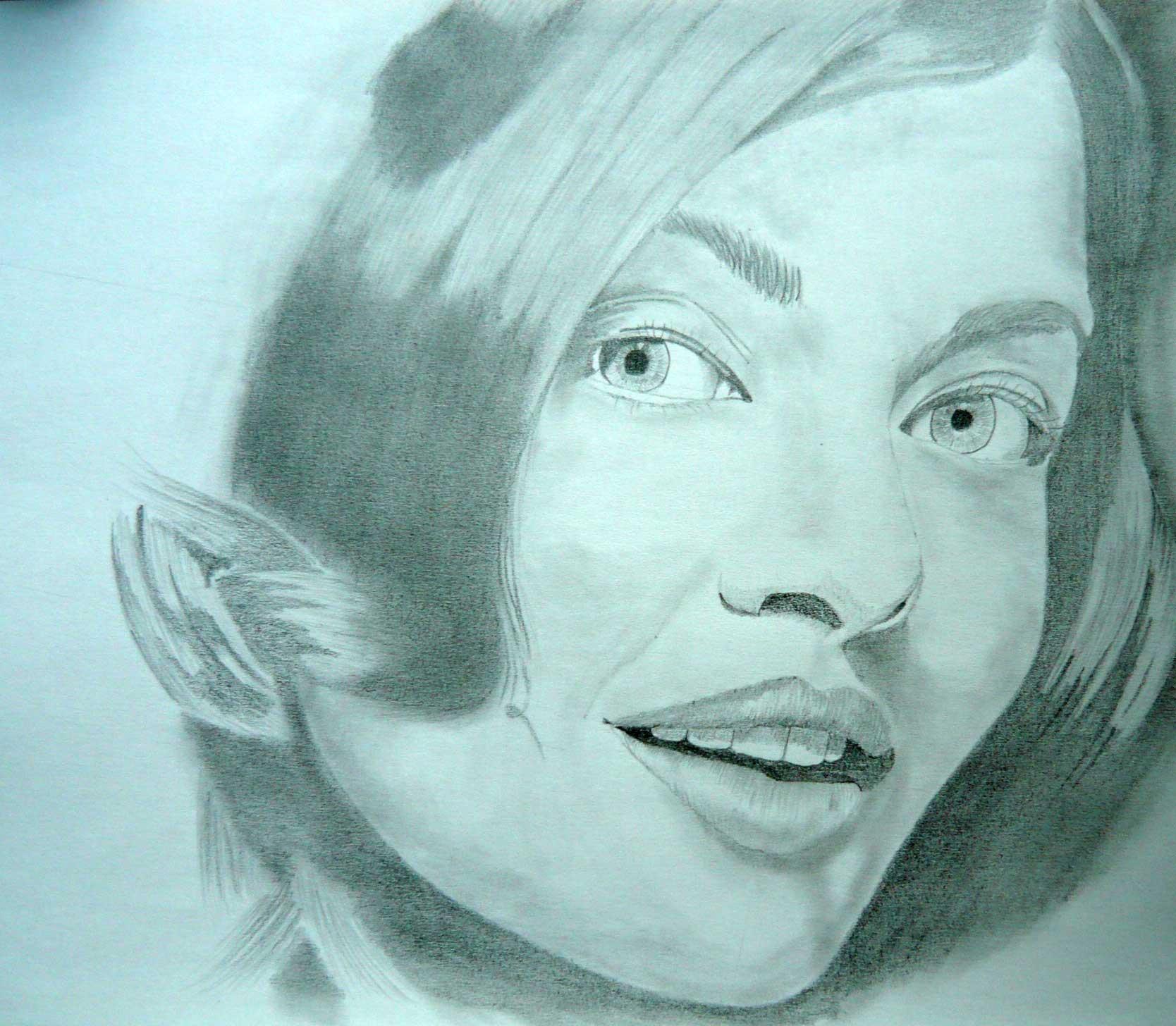 Naucte Se Kreslit Portret Tuzkou Kurz Pro Zacatecniky
